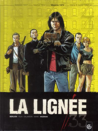 image de la lignée tome 3 - Maxime 1974