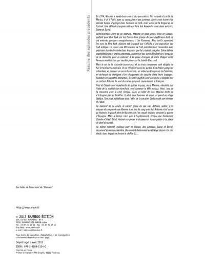 Page 1 la lignée tome 4 - Diane & David, 1994