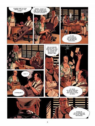 Page 4 la lignée tome 4 - Diane & David, 1994