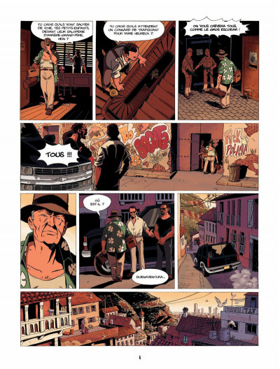Page 5 la lignée tome 4 - Diane & David, 1994