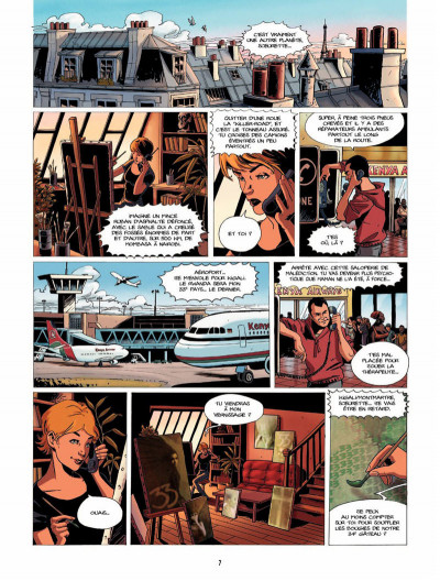 Page 6 la lignée tome 4 - Diane & David, 1994