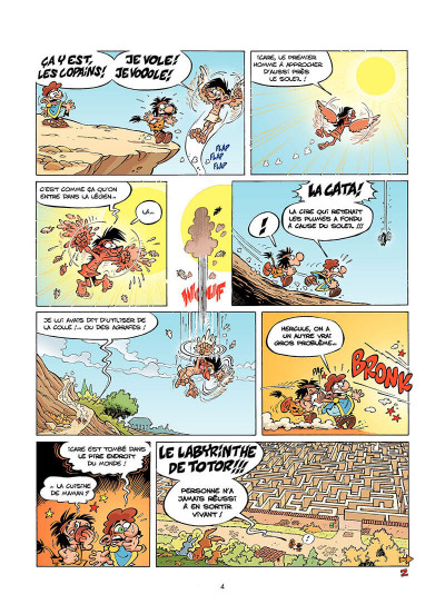 Page 5 les Petits Mythos T.2 - le grand Icare