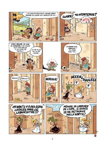 Page 6 les Petits Mythos T.2 - le grand Icare