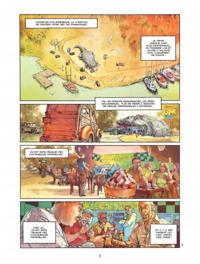 Page 3 Bourbon Street T.2 - tournée d'adieux