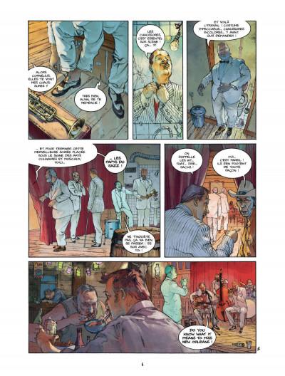 Page 4 Bourbon Street T.2 - tournée d'adieux