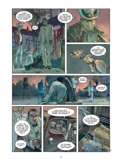 Page 5 Bourbon Street T.2 - tournée d'adieux