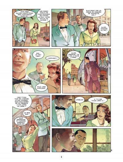 Page 6 Bourbon Street T.2 - tournée d'adieux