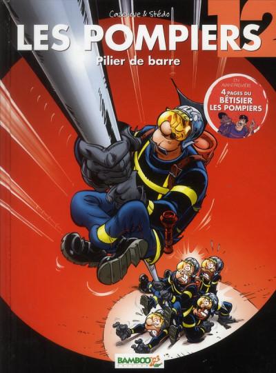 image de les pompiers tome 12 - pilier de barre