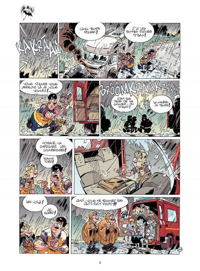 Page 3 les pompiers T.12 - pilier de barre