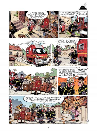 Page 6 les pompiers T.12 - pilier de barre