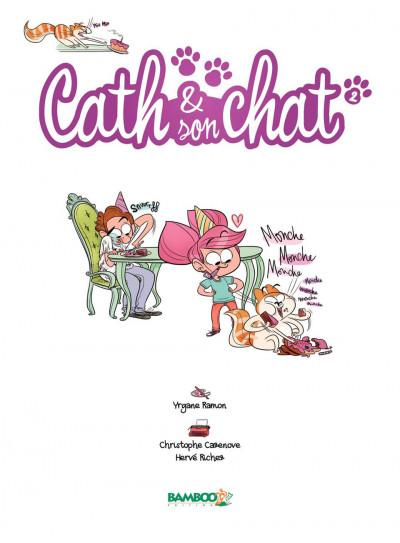 Page 1 Cath et son chat T.2