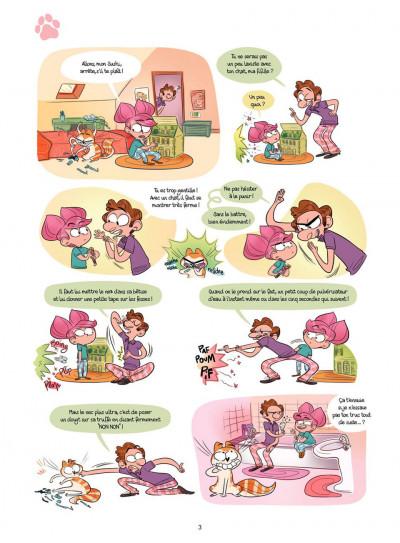 Page 3 Cath et son chat T.2