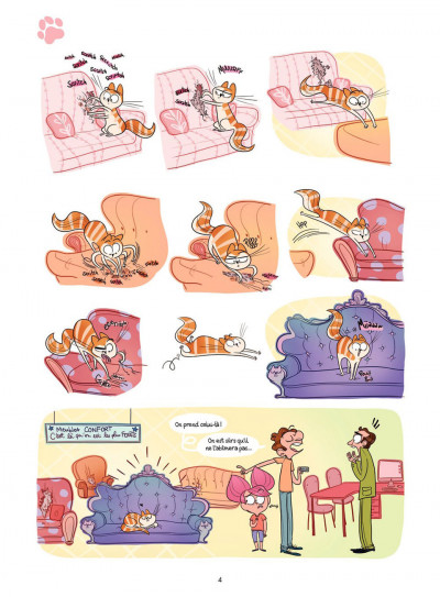 Page 4 Cath et son chat T.2