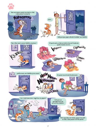 Page 7 Cath et son chat T.2