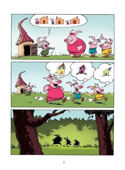 Page 5 les 3 petits cochons