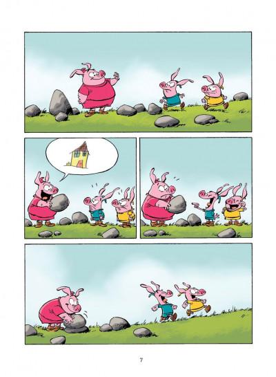 Page 6 les 3 petits cochons