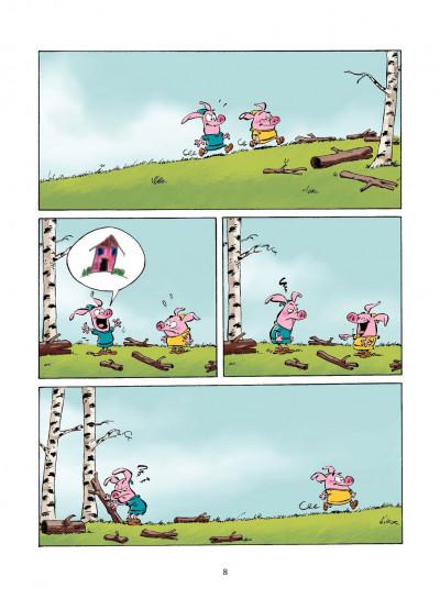 Page 7 les 3 petits cochons