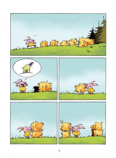 Page 8 les 3 petits cochons