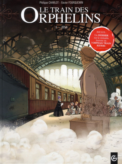 Couverture le train des orphelins tome 1 - Jim