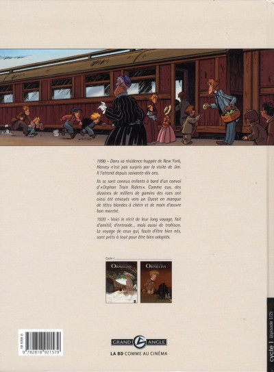Dos le train des orphelins tome 1 - Jim