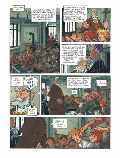 Page 3 le train des orphelins tome 1 - Jim