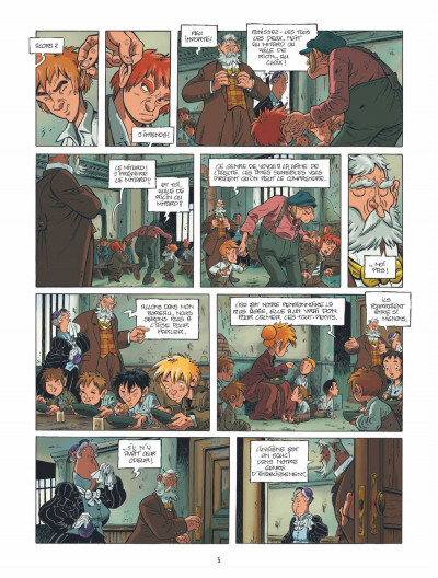 Page 4 le train des orphelins tome 1 - Jim