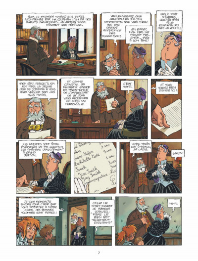 Page 6 le train des orphelins tome 1 - Jim