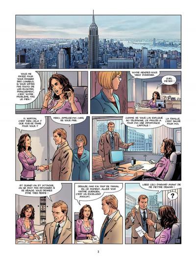 Page 4 Sienna tome 3 - Iraq, fraternité et terrorisme tome 1
