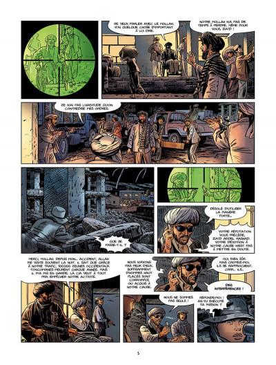 Page 6 Sienna tome 3 - Iraq, fraternité et terrorisme tome 1