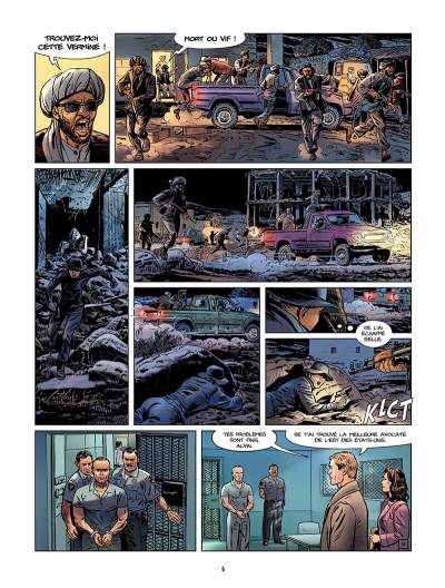 Page 7 Sienna tome 3 - Iraq, fraternité et terrorisme tome 1
