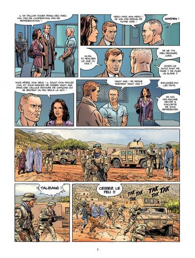 Page 8 Sienna tome 3 - Iraq, fraternité et terrorisme tome 1