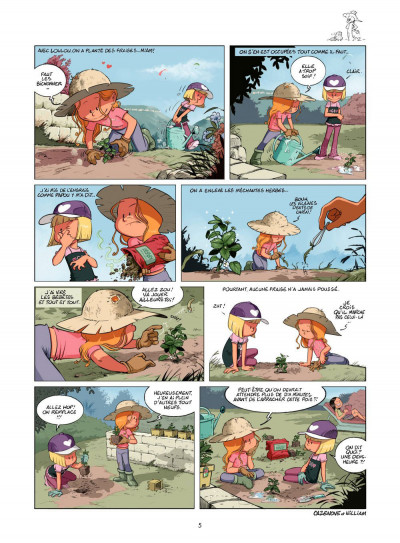 Page 4 les Sisters T.7 - mon coup d'soleil, c'est toi !
