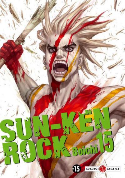Couverture sun-ken rock tome 15