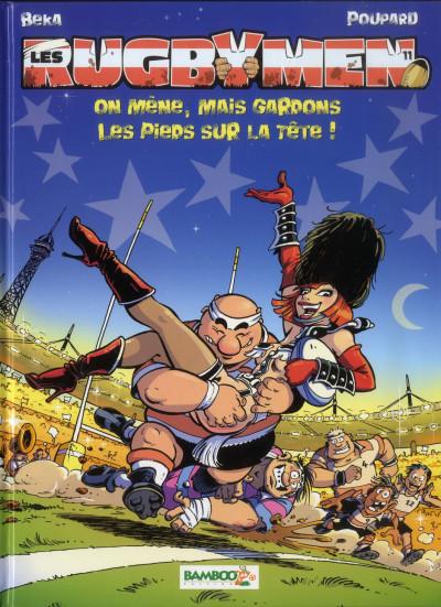Couverture Les rugbymen tome 11