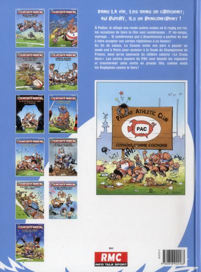 Dos Les rugbymen tome 11