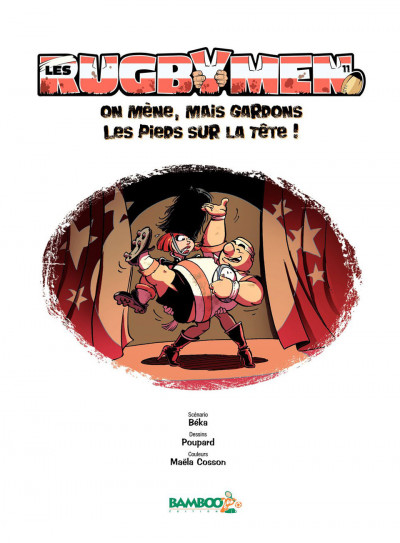 Page 1 Les rugbymen tome 11