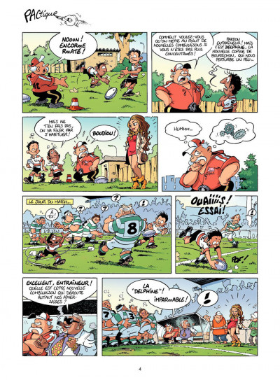 Page 4 Les rugbymen tome 11