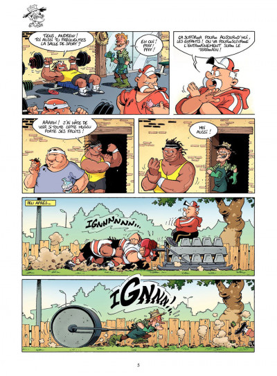 Page 5 Les rugbymen tome 11