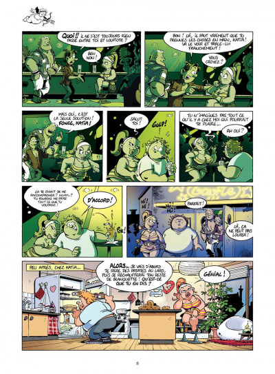 Page 6 Les rugbymen tome 11