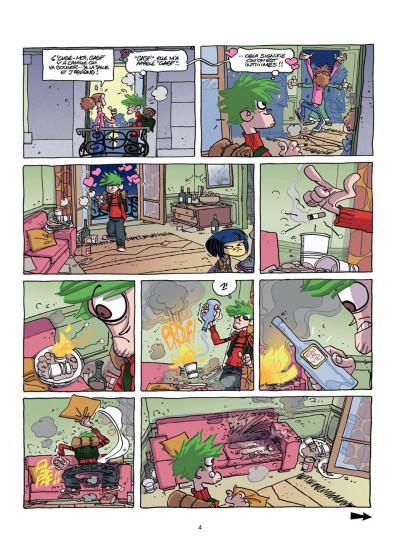 Page 4 coloc'party tome 1 - bienvenue chez toi !