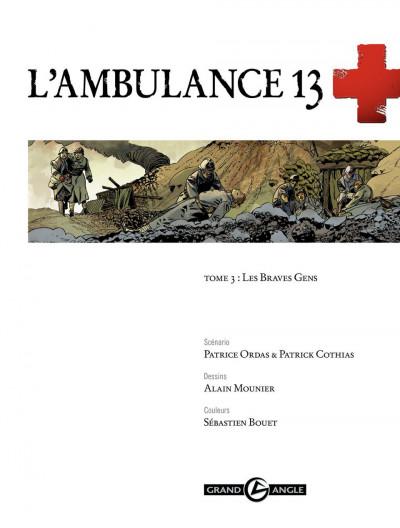 Page 1 L'ambulance 13 tome 3