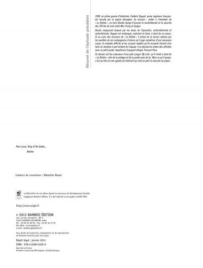Page 2 la rafale tome 2 - les traverses de Song-Lap