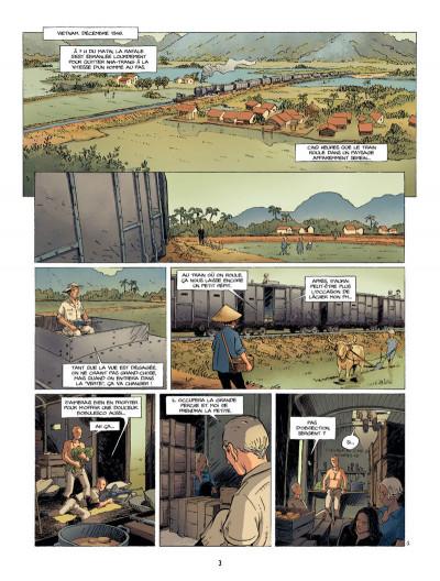 Page 3 la rafale tome 2 - les traverses de Song-Lap