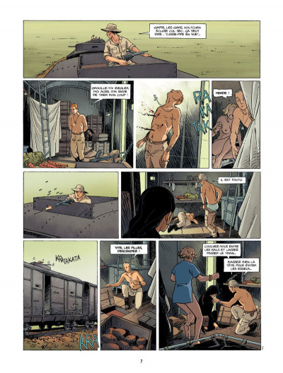 Page 7 la rafale tome 2 - les traverses de Song-Lap