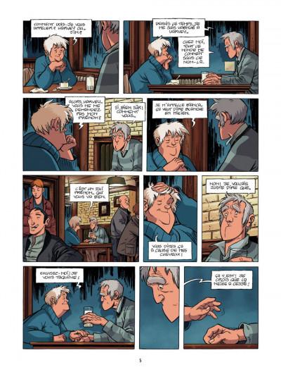 Page 5 le train des orphelins T.2 - Harvey