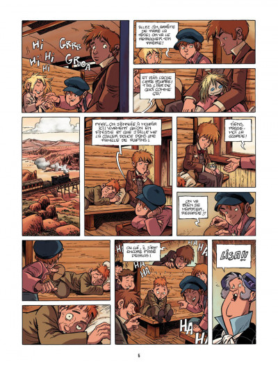 Page 6 le train des orphelins T.2 - Harvey