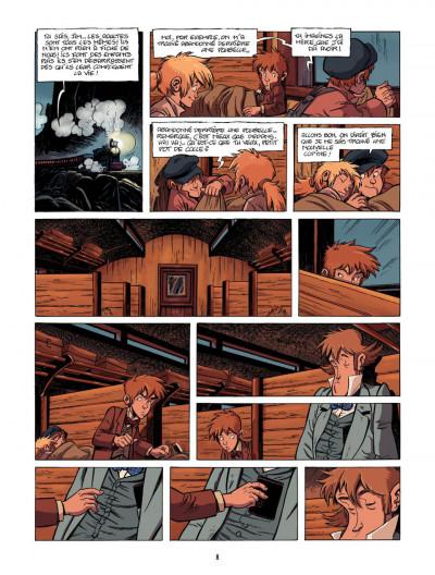 Page 8 le train des orphelins T.2 - Harvey