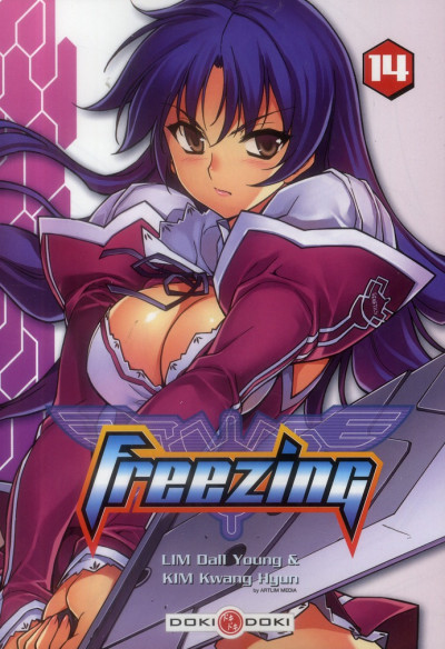 Couverture freezing tome 14
