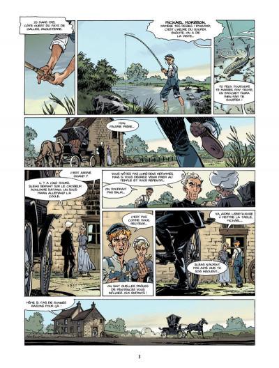 Page 2 S.O.S. Lusitania tome 1 - la croisière des orgueilleux