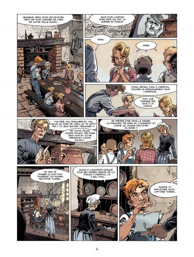 Page 3 S.O.S. Lusitania tome 1 - la croisière des orgueilleux